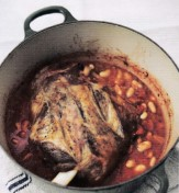 Slow-cooked lamb shoulder