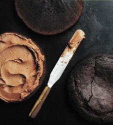 Espresso bourbon cake