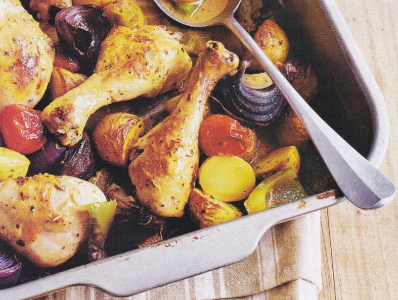 Chicken Drumstick Bake