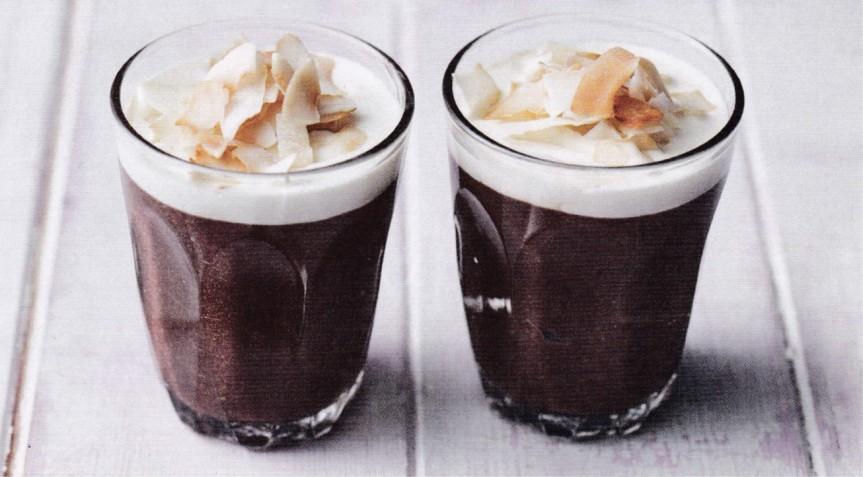 Chocolate Coconut Pots