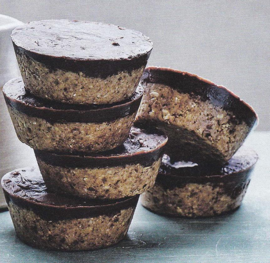 Raw Peanut Butter and ChocolateCups