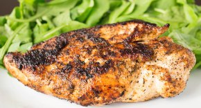 Blackened chicken