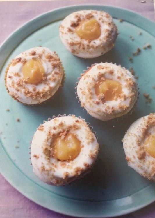 Lemon cheesecake cupcakes