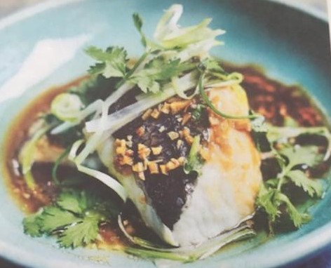 Steamed Hake