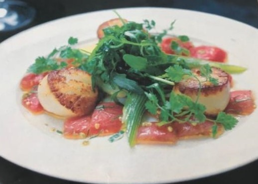 Pan-fried Diver Scallops